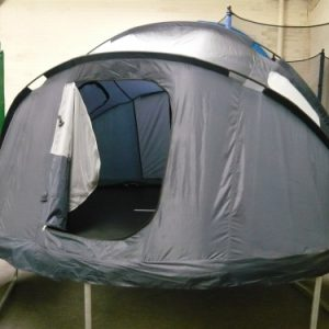 Trampoline-tents